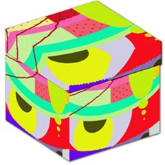 Colorful abstraction by Moma Storage Stool 12