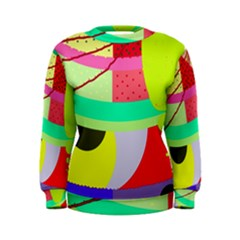 Colorful abstraction by Moma Women s Sweatshirt