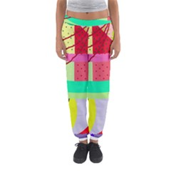 Colorful Abstraction By Moma Women s Jogger Sweatpants