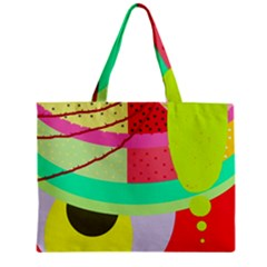 Colorful abstraction by Moma Zipper Mini Tote Bag