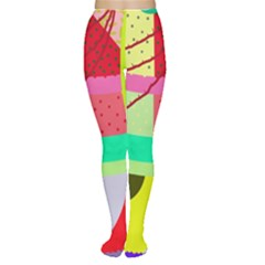 Colorful abstraction by Moma Women s Tights