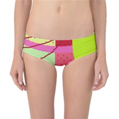 Colorful abstraction by Moma Classic Bikini Bottoms