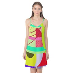 Colorful abstraction by Moma Camis Nightgown