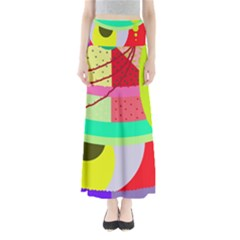 Colorful abstraction by Moma Maxi Skirts