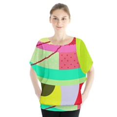 Colorful abstraction by Moma Blouse