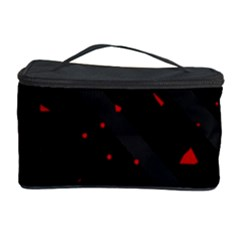 Black and red Cosmetic Storage Case