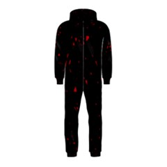 Black and red Hooded Jumpsuit (Kids)
