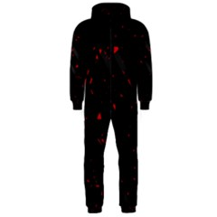 Black and red Hooded Jumpsuit (Men)