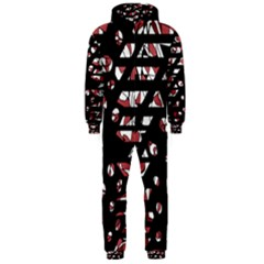 Red freedam Hooded Jumpsuit (Men)