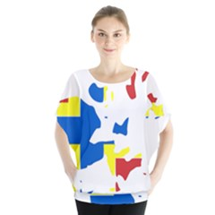 Flag Map of Orkney Islands  Blouse