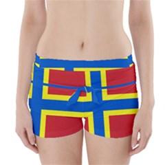 Flag Of Orkney Boyleg Bikini Wrap Bottoms