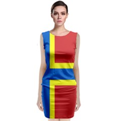 Flag Of Orkney Classic Sleeveless Midi Dress