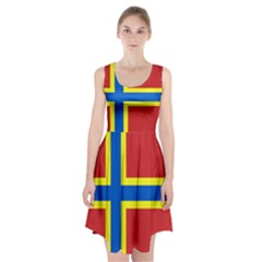 Flag Of Orkney Racerback Midi Dress