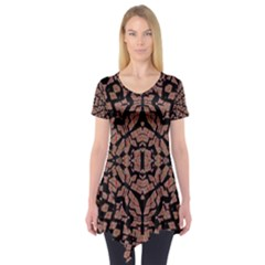 ,i, (3);; Short Sleeve Tunic