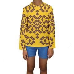 Jggjgj Kid s Long Sleeve Swimwear