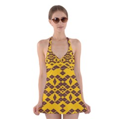 Jggjgj Halter Swimsuit Dress