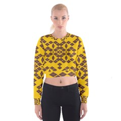 Jggjgj Women s Cropped Sweatshirt