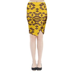 Jggjgj Midi Wrap Pencil Skirt