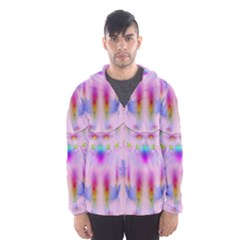 Rainbows And Leaf In The Moonshine Hooded Wind Breaker (Men)