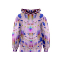 Rainbows And Leaf In The Moonshine Kids  Pullover Hoodie