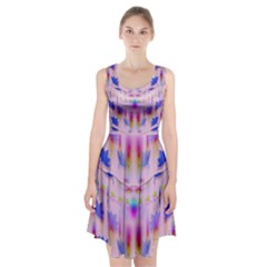 Rainbows And Leaf In The Moonshine Racerback Midi Dress