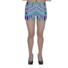 Rainbows In The Moonshine Skinny Shorts