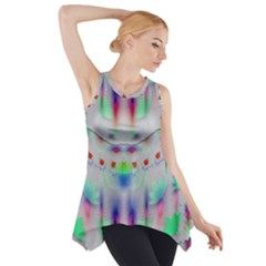Rainbows In The Moonshine Side Drop Tank Tunic