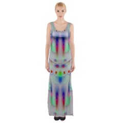 Rainbows In The Moonshine Maxi Thigh Split Dress