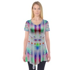 Rainbows In The Moonshine Short Sleeve Tunic