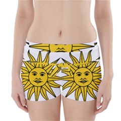 Uruguay Sun of May Boyleg Bikini Wrap Bottoms