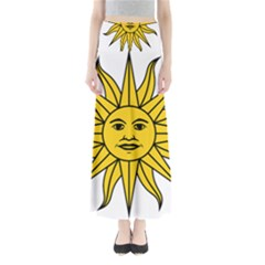 Uruguay Sun of May Maxi Skirts