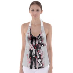 Say Please Babydoll Tankini Top