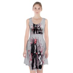 Say Please Racerback Midi Dress