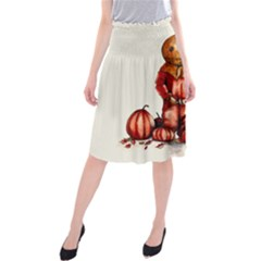 Trick R Treat Sam Midi Beach Skirt