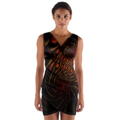 Untitled 2 Wrap Front Bodycon Dress