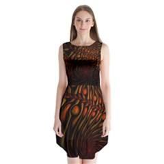 Untitled 2 Sleeveless Chiffon Dress