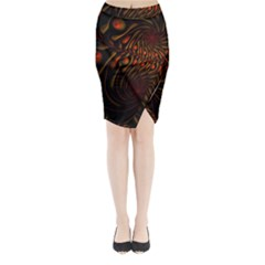 Untitled 2 Midi Wrap Pencil Skirt