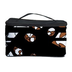 Brown freedom  Cosmetic Storage Case
