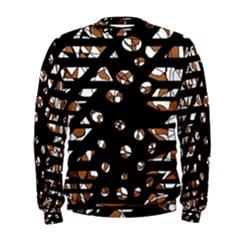 Brown freedom  Men s Sweatshirt