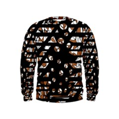 Brown freedom  Kids  Sweatshirt