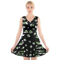Freedom V-Neck Sleeveless Skater Dress
