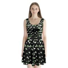 Freedom Split Back Mini Dress