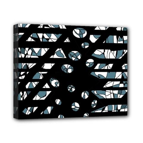 Blue freedom Canvas 10  x 8