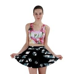 Blue freedom Mini Skirt