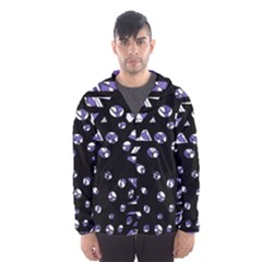 Purple freedom Hooded Wind Breaker (Men)