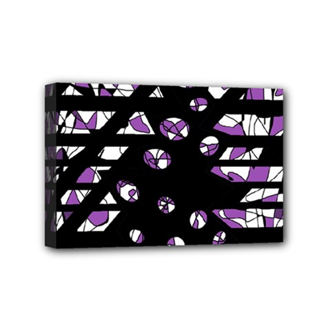Violet freedom Mini Canvas 6  x 4