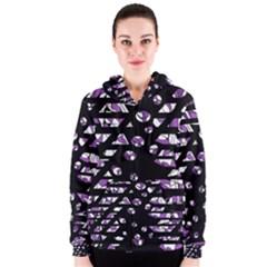 Violet freedom Women s Zipper Hoodie