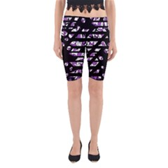 Violet Freedom Yoga Cropped Leggings