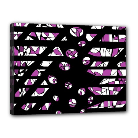 Magenta freedom Canvas 16  x 12