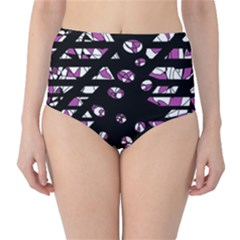 Magenta freedom High-Waist Bikini Bottoms